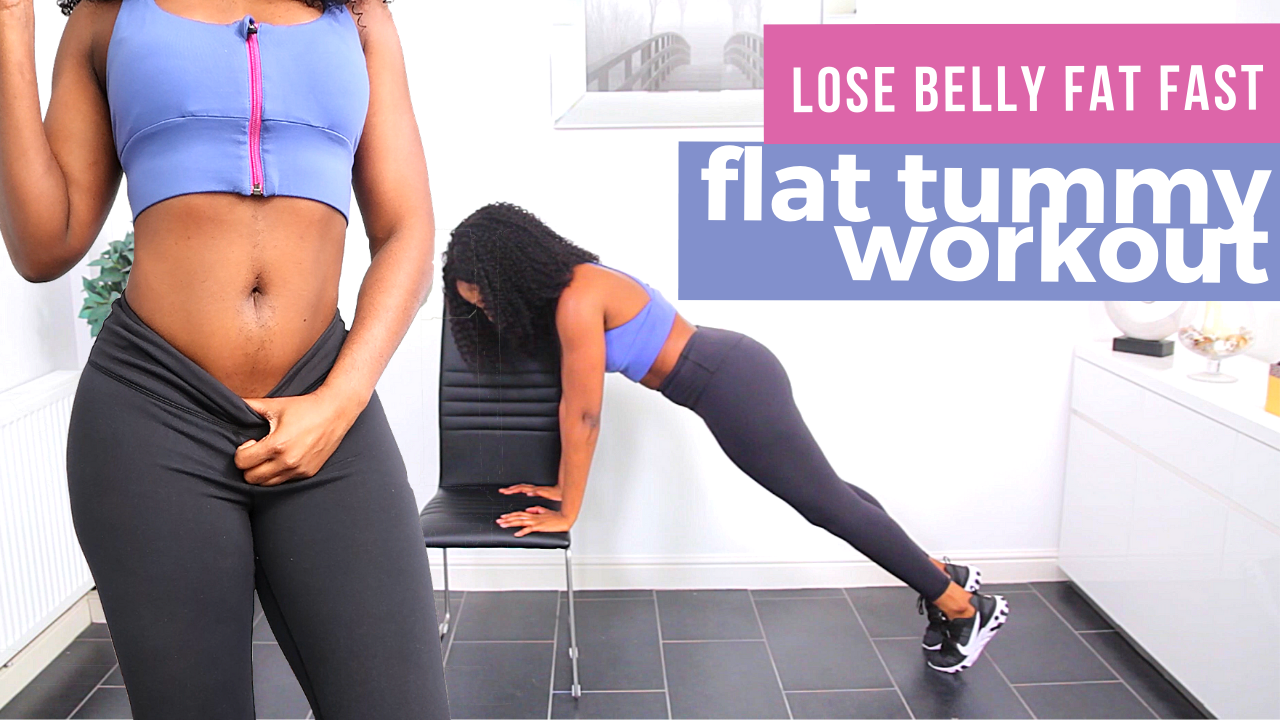 Flat Tummy Workout Routine