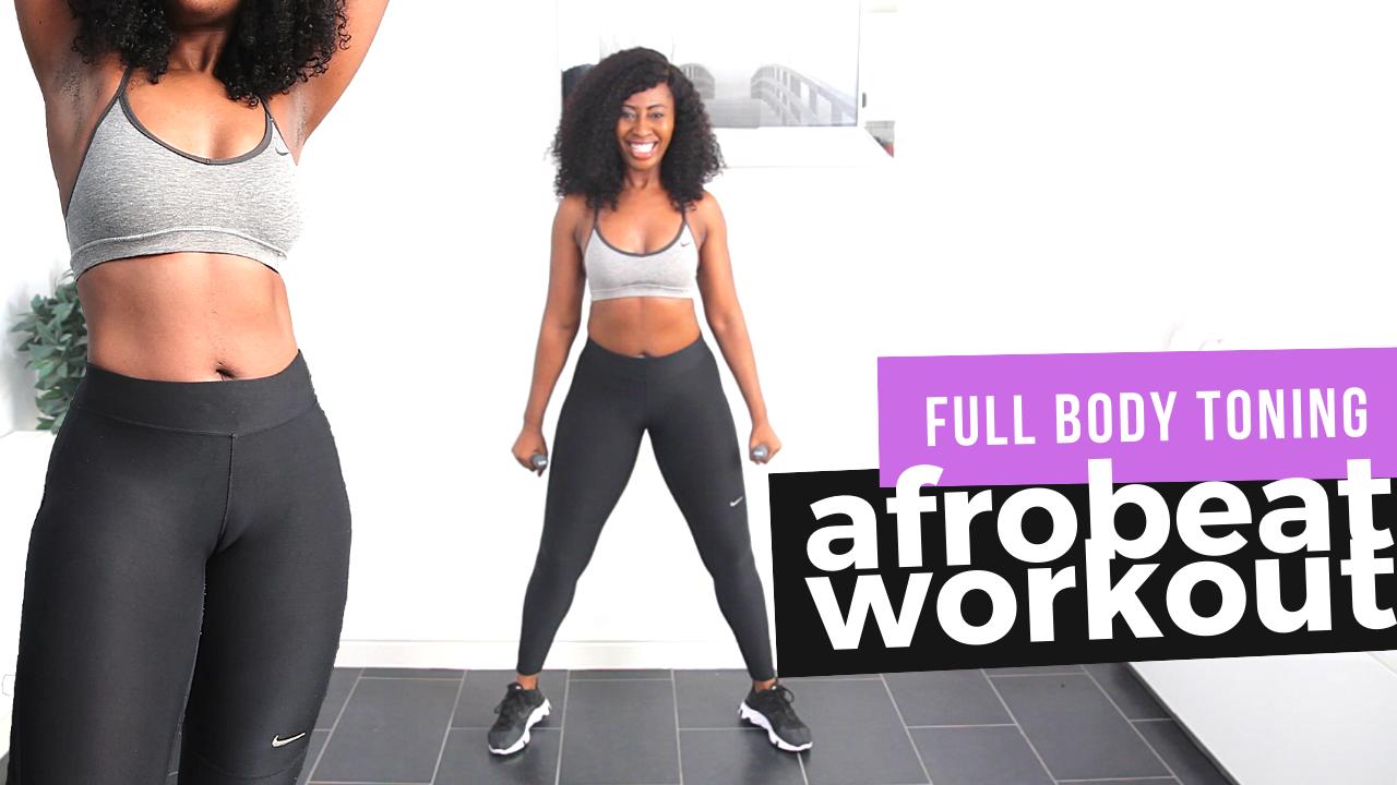 Full Body Toning Dance Workout